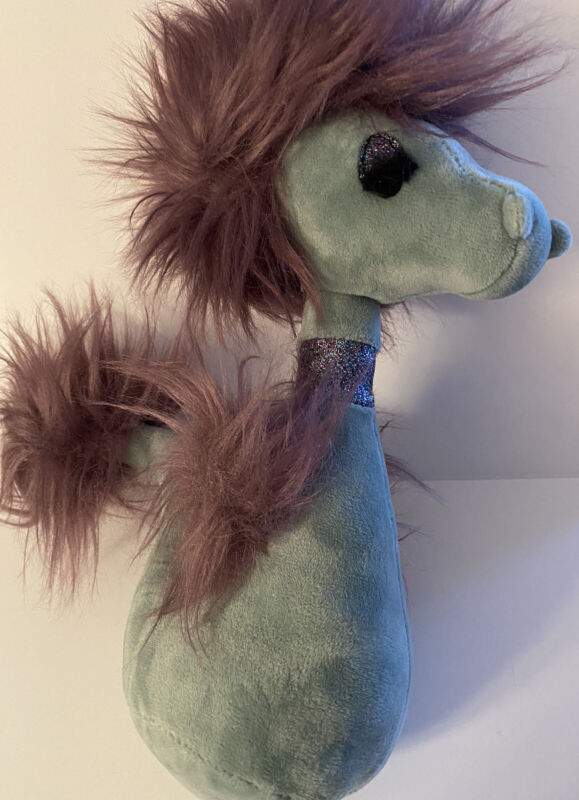 Jellycat I am Curiosity Seahorse w/Sparkle Eyes and Collar NEW w/Tags