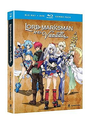 Lord Marksman And Vanadis  The Complete Series  Blu Ray   Dvd  Free Shipping