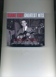 DUANE EDDY - GREATEST HITS - 2 CDS - NEW!!