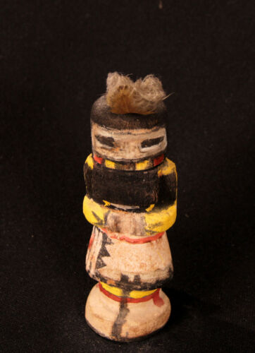 """Antique Hopi Route 66 Corn Maiden pre-1940 5 1/2"""" ht early pigments"""