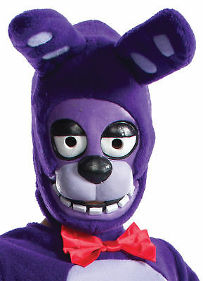 Five Nights At Freddy's Bonnie 3/4 Mask Child Latex Halloween Rubies - Five Nights At Freddy's 4 Halloween