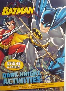 Batman Colourful Activity Book. Dark Knight Activities (Over 40 Fun Activities)