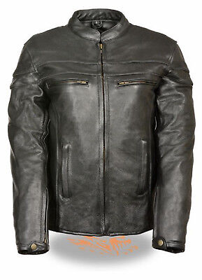 Ladies Black Leather Sporty Motorcycle Jacket Biker Rider Crossover Scooter  Ladies Scooter Jacket