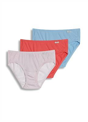 Elance 3 Pack Brief - Jockey Womens Elance Bikini 3 Pack Underwear Bikini Briefs 100% cotton