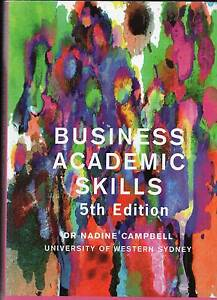 Business Academic Skills 5th Edition Dr Nadine Campbell Randwick Eastern Suburbs Preview