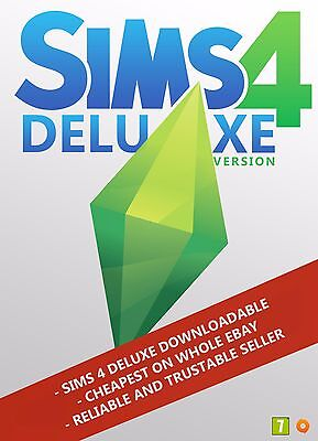 The Sims 4 Digital Deluxe   Pc   Mac