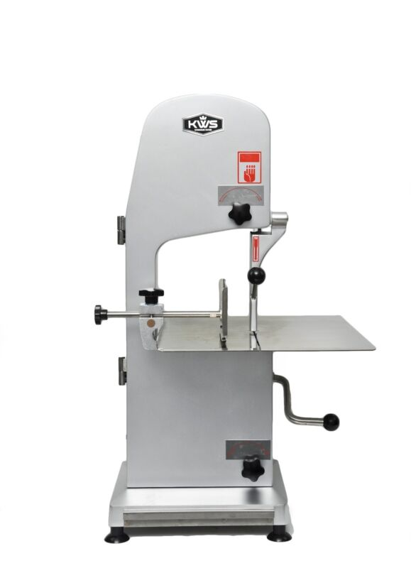 KWS B-210 Commercial Electric Meat Band Saw Bone Saw Machine/ Cutter Heavy-Duty
