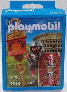 ROMANO-standarte-PLAYMOBIL-EXCLUSIVO-EDICIoN-9214-para-Colosseum-LEGIONARIO