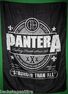 Pantera Beer Label Dimebag Darrell Cloth Fabric Textile Poster Wall Flag-New!!!