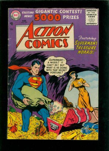 Action Comics 219 VG- 3.5