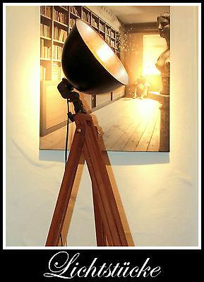Tripod Retro Stativ Steh Lampe - Leuchte mit Leuchtmittel - Bauhaus