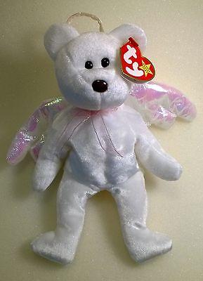 Ty Retired Rare Beanie Baby HALO in pristine condition!