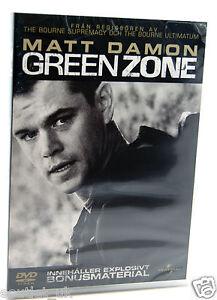 VERDE-Zone-DVD-REGION-2-NUOVO-SIGILLATO-Matt-Damon