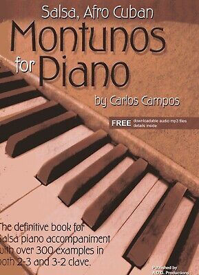 Salsa And Afro Cuban Montunos For Piano Book/audio files