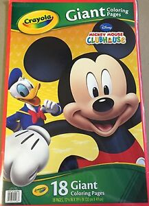CRAYOLA-GIANT-COLORING-PAGES-DISNEY-MICKEY-MOUSE-CLUBHOUSE ...