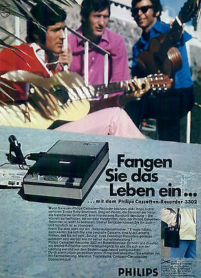 Philips-Cassetten-Recorder-Reklame-Werbung-genuineAdvertising-nl-Versandhandel