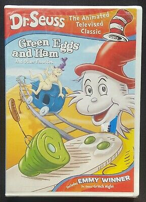 Dr.Seuss Green Eggs And Ham And Other Favorites Vintage DVD - NEW/FACTORY SEALED - Doctor Seuss Halloween