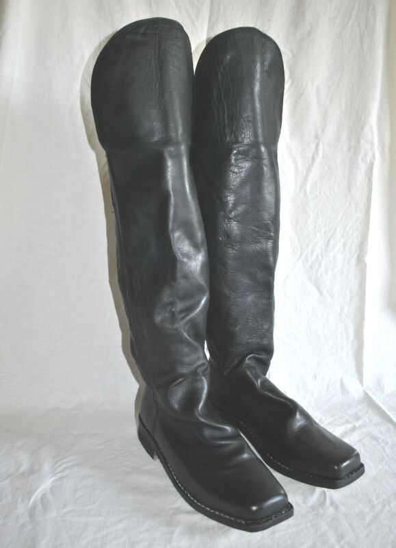Knee Flap Boots - Sizes 6-14 - 6-8 Week Delivery - Civil War - FREE SHIPPING!!