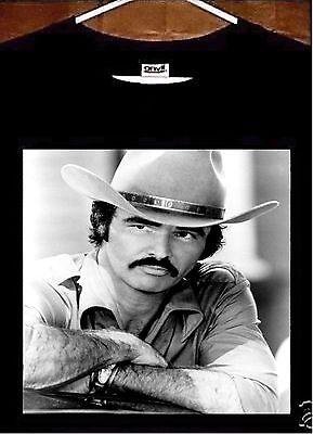 Burt Reynolds T shirt; 1970s Burt Reynolds Tee Shirt - 1970 Mens Clothes