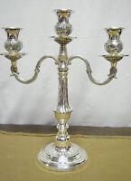 N°4661 N° Meraviglioso Candelabro 3 Luci In Argento Sheffield Collection -  - ebay.it