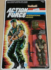 GI JOE ACTION FORCE Lt. FALCON Hasbro Movie Toy Military Green Beret Mens Man