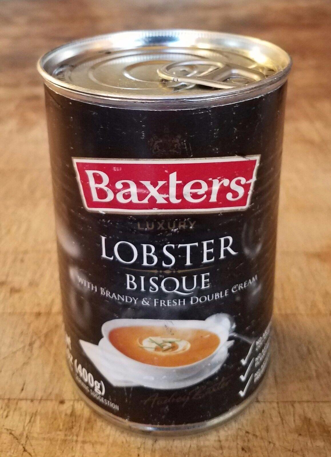 Diversion Can Stash Secret Safe Baxters Lobster Bisque 14.1 Oz Magnetic Lid - $9.99