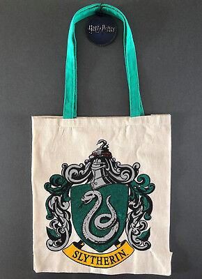Harry Potter Bolso Slytherin Bolsa de Yute Bolsa de Compra Tela Bolso...