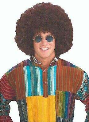 Forum Novelties Jumbo Hippie Afro Wig Brown Halloween Costume Accessory 61839 (Novelty Wig)