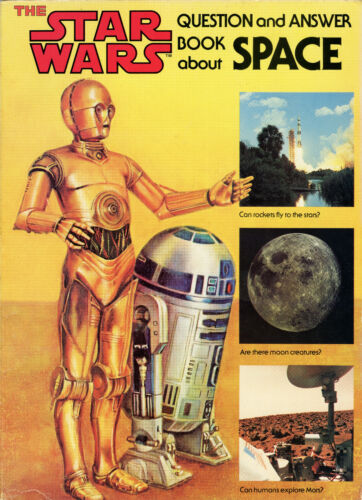 Star Wars - Question and Answer Book About Space (1979) by Scholastic, VINTAGE