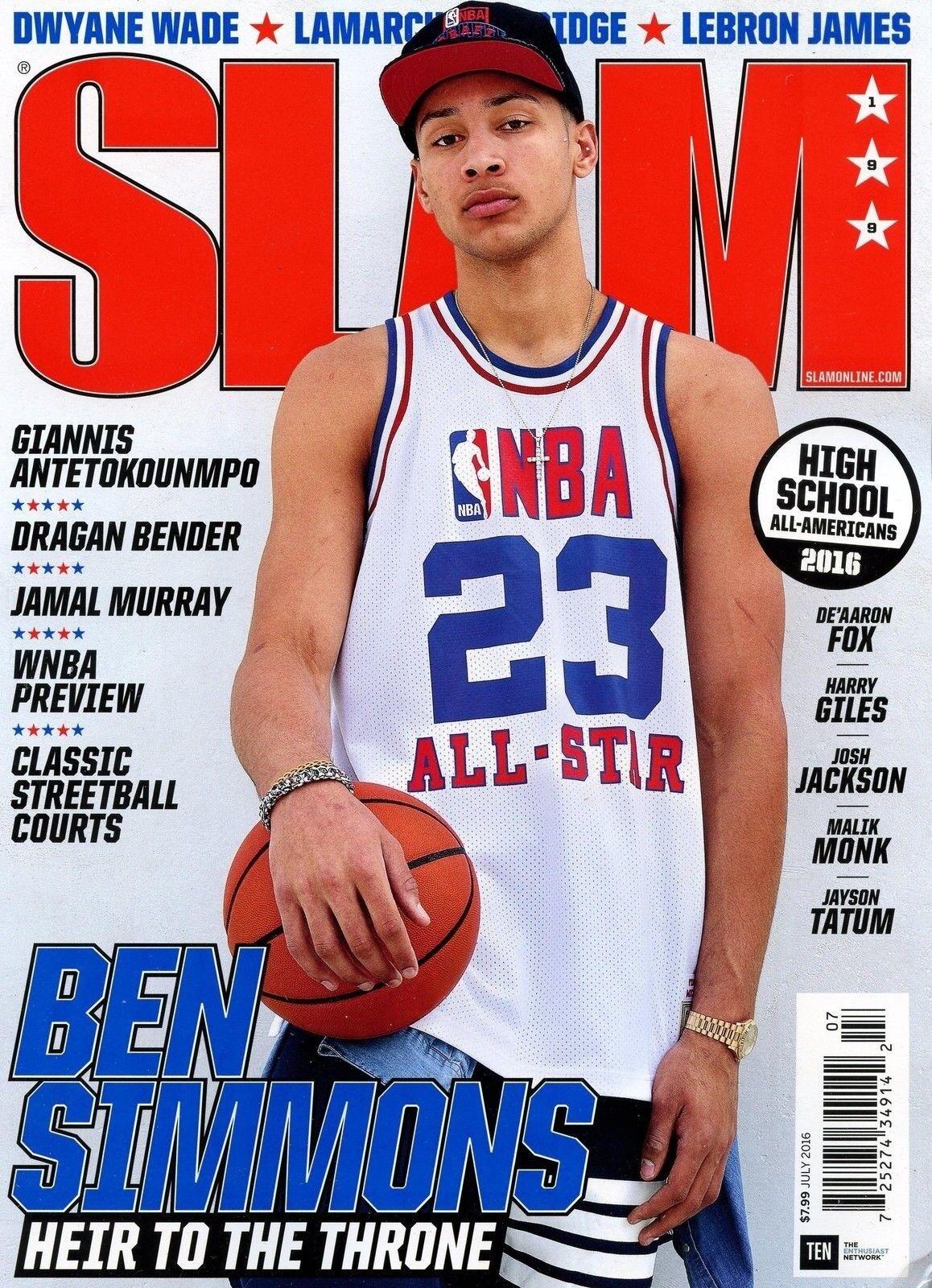 Slam Magazine #199 July 2016 basketball NBA Australia LSU BEN ...