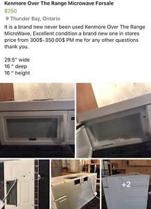 Brand New Kenmore Microwave