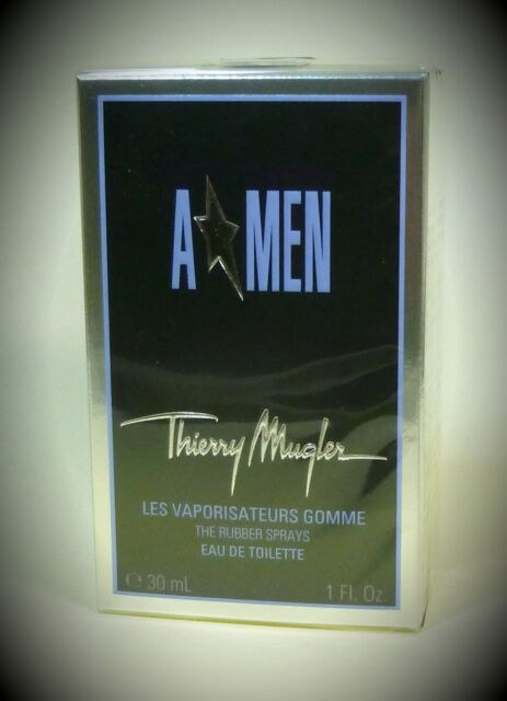 THIERRY MUGLER A Men Eau de Toilette Spray Rubber / Gummi 30ml
