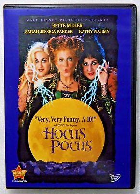 Hocus Pocus (DVD, 2018) - New In Shrink Wrap!