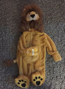 Baby lion costume 6-9 months