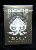 Black Ghost Playing Cards