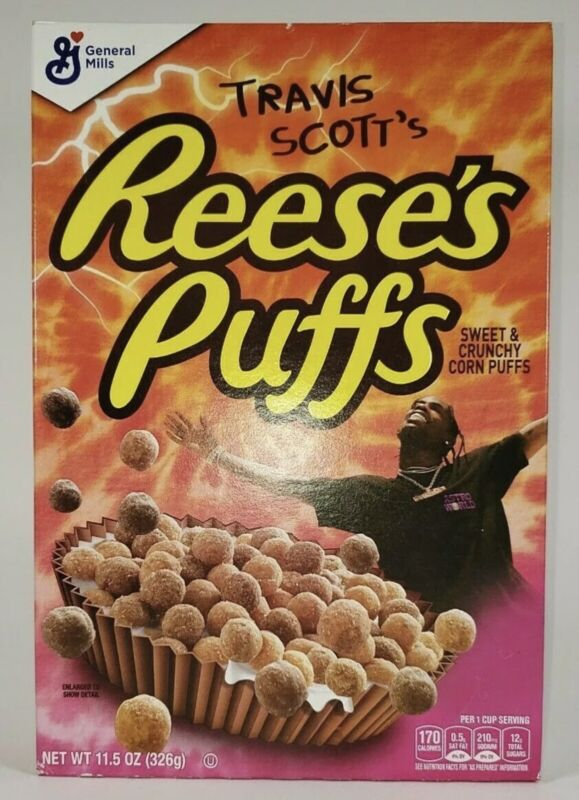 Travis Scott X Reeses Puffs Cereal Special Edition