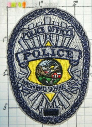 """NEVADA, WASHOE COUNTY SCHOOL DISTRICT POLICE OFFICER 3.5"""" PATCH"""