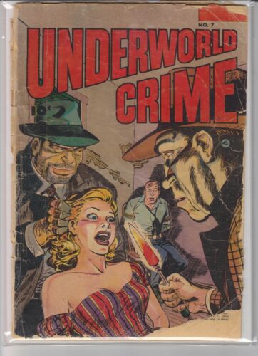 UNDERWORLD CRIME # 7