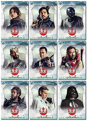 NEW - ROGUE ONE A STAR WARS STORY PROMO 10 Card Character Profile Set = Vader