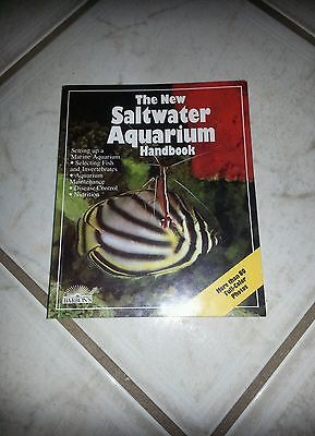 - The New Saltwater Aquarium Handbook by Barron's; more than 80 Full-Color Photos