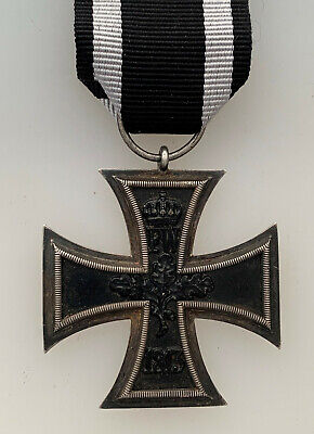 Genuine WW1 1914 Imperial German Iron Cross 2nd Class with makers mark on ring segunda mano  Embacar hacia Mexico