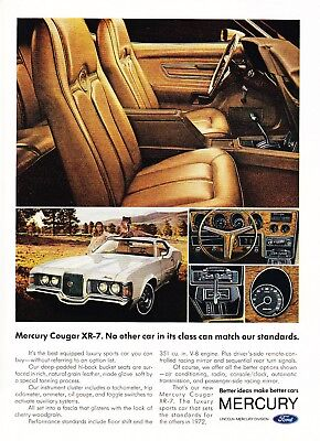 1972 Mercury Cougar XR-7 Coupe photo