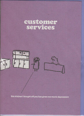 Customer Service, Kitchen  - Funny Humour Card - MT ~ FREE POSTAGE UK ()