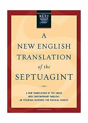 A New English Translation of the Septuagint Free
