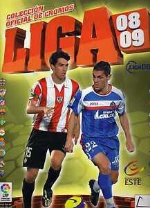 liga-este-2008-2009-296-cromos-y-9-fichajes