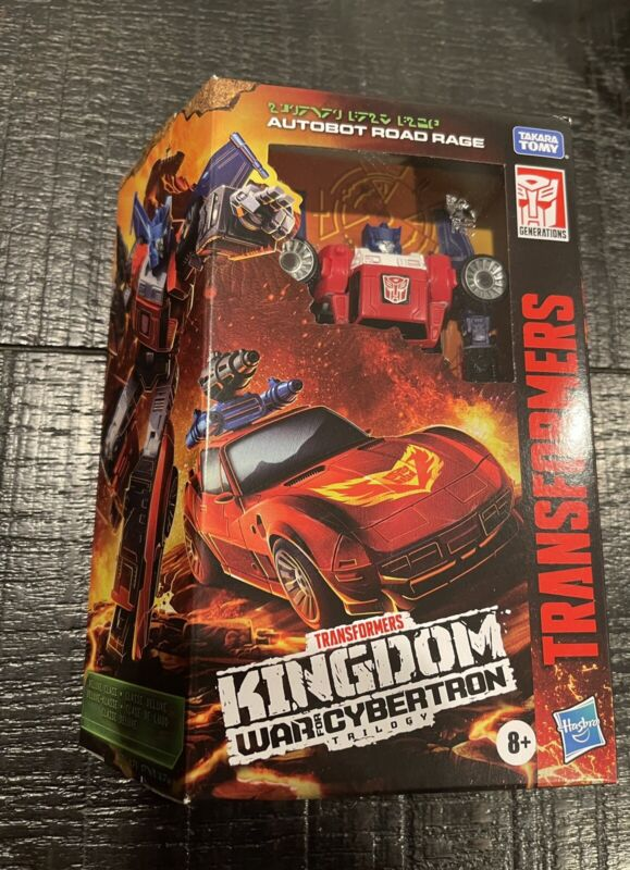 Transformers Kingdom War For Cybertron Deluxe Road Rage Target Exclusive