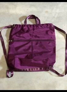Lululemon Like Purple Carry Backpack