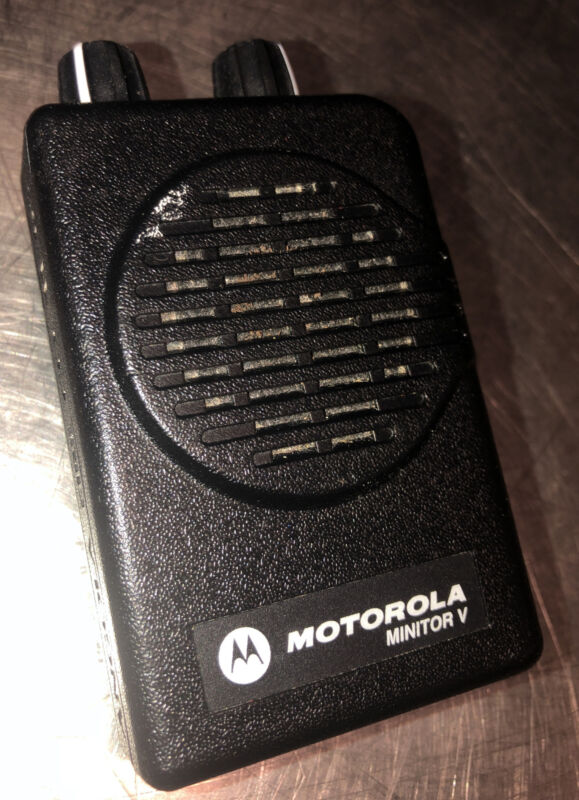 Motorola Minitor V. No Battery Or Charger. Please See All Pics For Details
