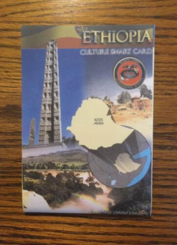 ETHIOPIA CULTURE MILITARY SMART CARD USMC MCIA Local Customs Languages Phrases