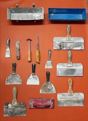Lot Of 15 - Putty Knife And Drywall Tools